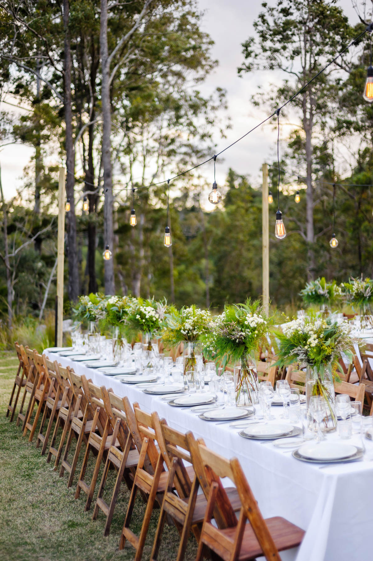 Australian Outdoor Wedding Ideas With Greenery - Polka Dot Bride