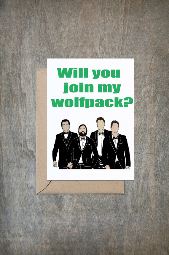 Wolfpack card. Photo Crimson and Clover Gift
