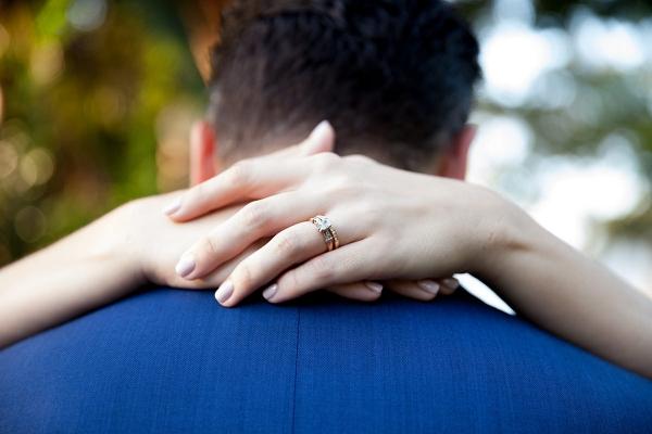 Image by Tealily Photography via Adna & Ben's Modern Glam Sydney Wedding