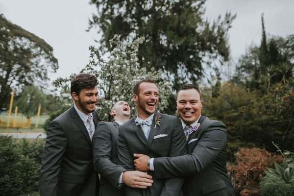 Image Kate Drennan Photography. Via April and John's enchanting old world garden wedding
