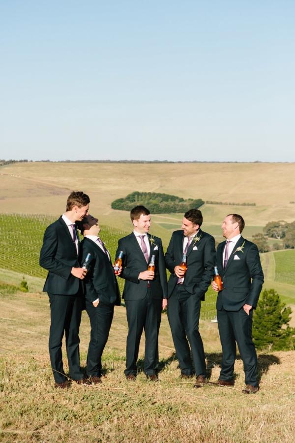 Image: Stefani Driscoll Via Lauren & Matt's Country Winery Bannockburn Wedding