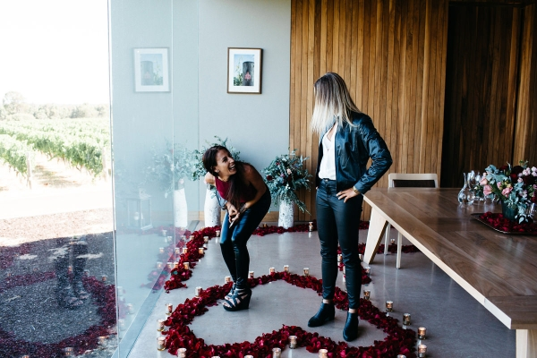 110072 romantic winery proposal by kelly harwood