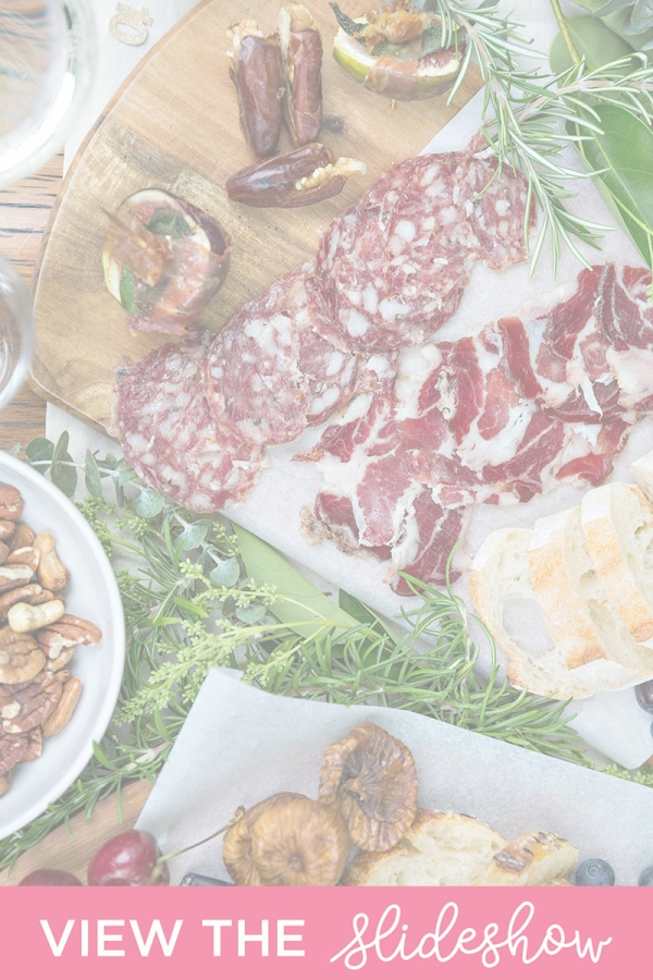 Charcuterie tables at weddings