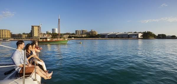 Darwin Harbour. Image via Peter Eve/Tourism NT