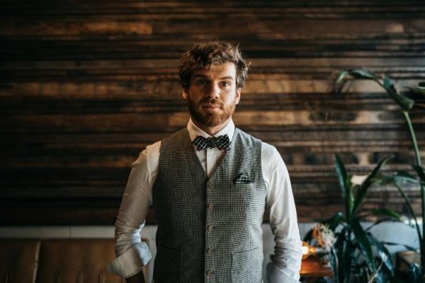 Huntley Slim bow tie. Image via That Dapper Chap