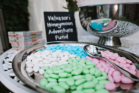 Sugared almonds wedding