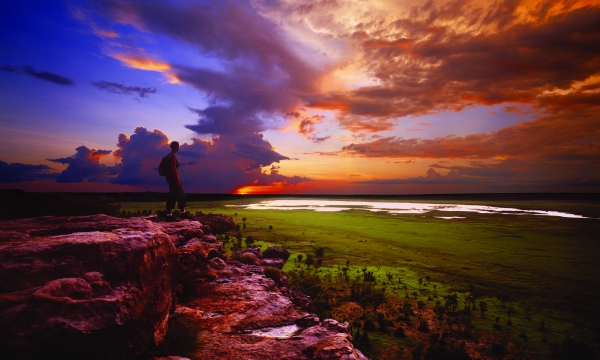 Ubirr sunset Kakadu National Parl Peter Eve Tourism NT