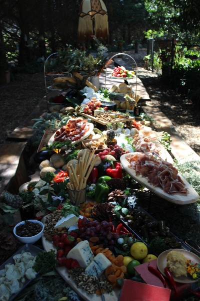 Wedding Antipasto grazing table by your private chef022