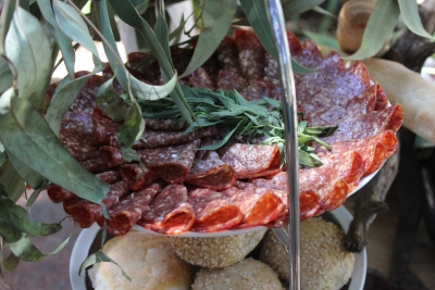 Wedding Antipasto grazing table by your private chef023