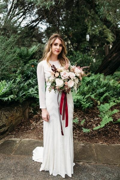 119081 simple sunken garden wedding in perth by peggy saas