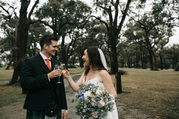 122807 mornington peninsula wedding at polperro winery by sarah godenzi photography