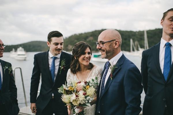 124126 low key sydney wedding at kuring gai motor yacht club by kevin lue