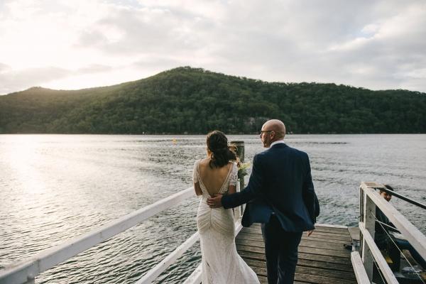 124129 low key sydney wedding at kuring gai motor yacht club by kevin lue