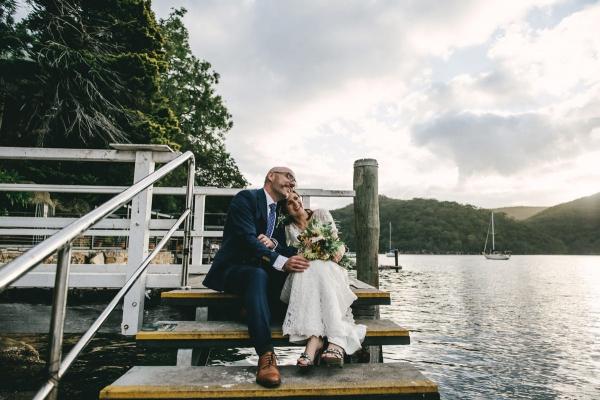 124132 low key sydney wedding at kuring gai motor yacht club by kevin lue
