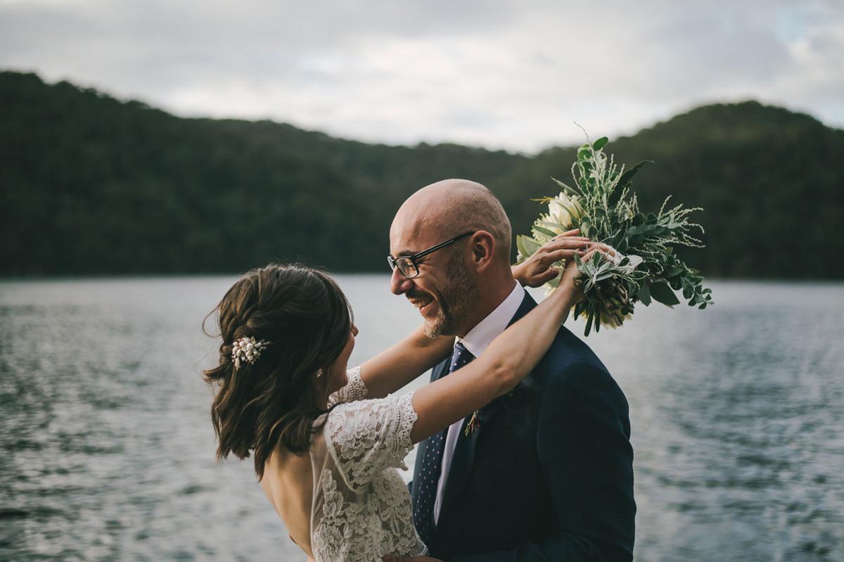 124197 low key sydney wedding at kuring gai motor yacht club by kevin lue