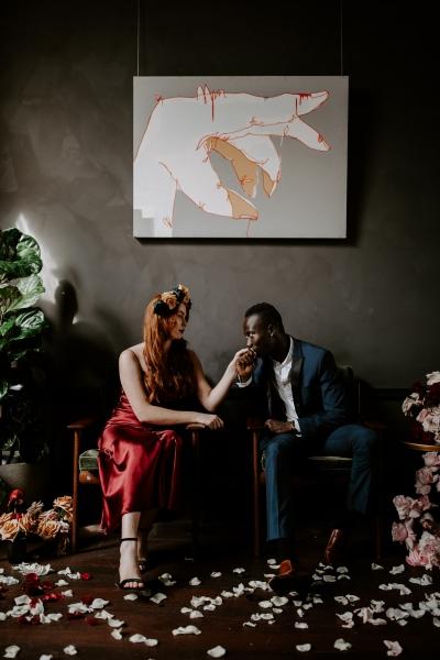 124728 moody avante garde winter wedding inspiration by samantha simone photography