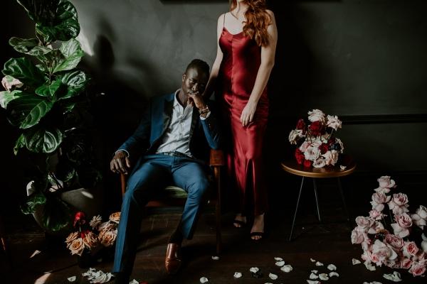 124742 moody avante garde winter wedding inspiration by samantha simone photography