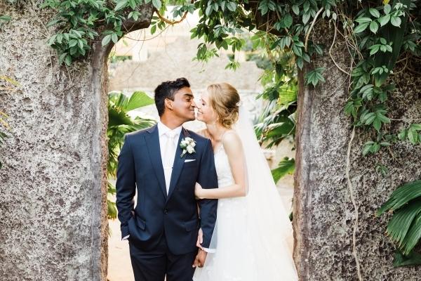 Stories With Mel via Ellie & Tharindu Whitsundays Wedding at Villa Botanica