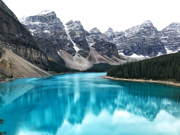 Moraine Lake. Image by Mr Houndstooth