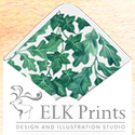 ELK Prints Design & Illustration Studio Wisdom banner