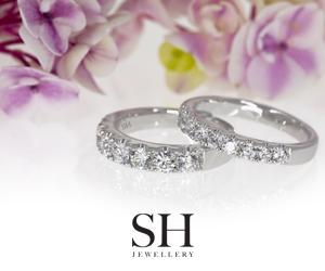 SH Jewellery Grande Weddings banner