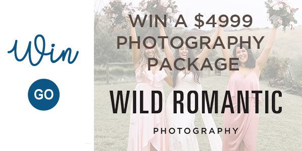 Wild Romantic Competition Banner Groom