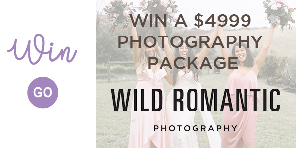 Wild Romantic Competition Banner Weddings