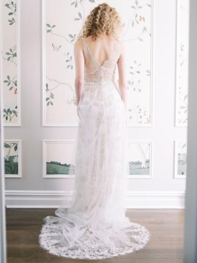 Claire Pettibone Evolution 2020 Wedding Gown Collection Polka