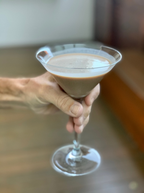 Chocolate Coconut Martini