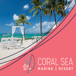 Coral Sea Weddings & Events Wisdom banner