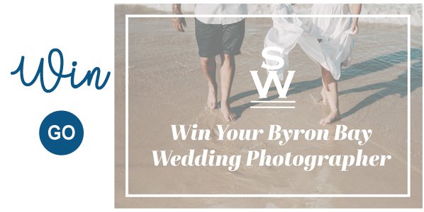 Win Your Byron Bay Wedding Photography Groom