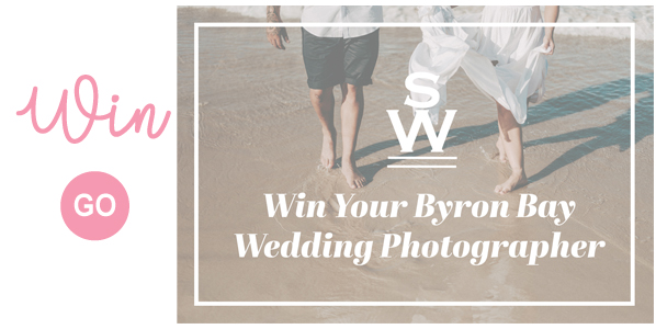 Win Your Byron Bay Wedding Photography Bride