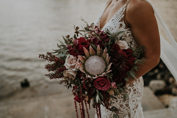 Brisbane wedding bouquet by Daisy Co