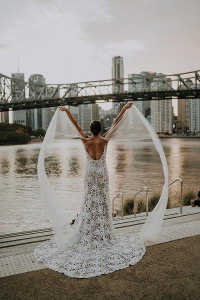 Brisbane city wedding photography