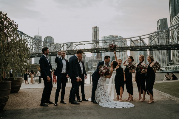 Brisbane city wedding photos