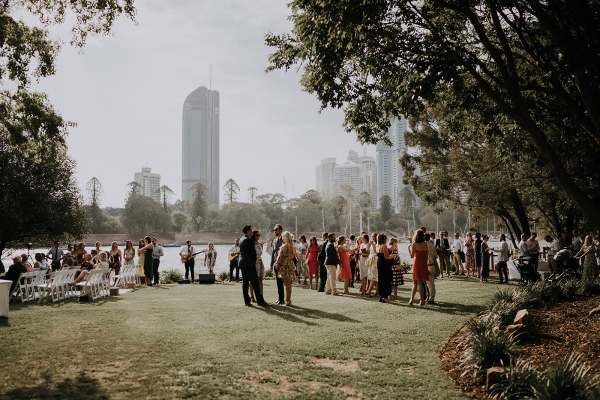 Brisbane city wedding decoration