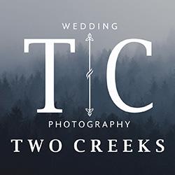Two Creeks Photography Weddings banner