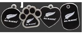 All Black tags