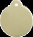 Brass Disc Pet Tag