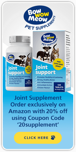 joint support pet supplements