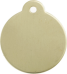 Brass Disc Pet Tag