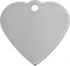 Stainless Heart Pet Tag
