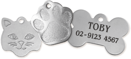 Stainless and Nickel Tags