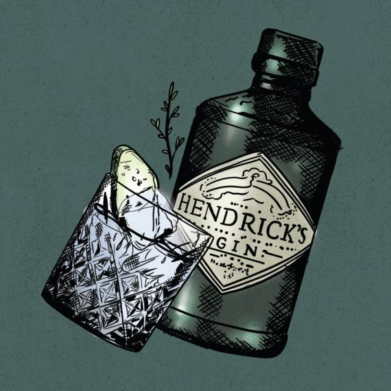 Hendrick's G&Ts