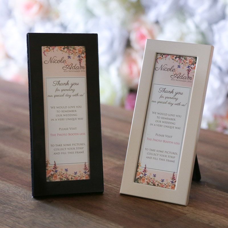 Photo Booth Easel Frames