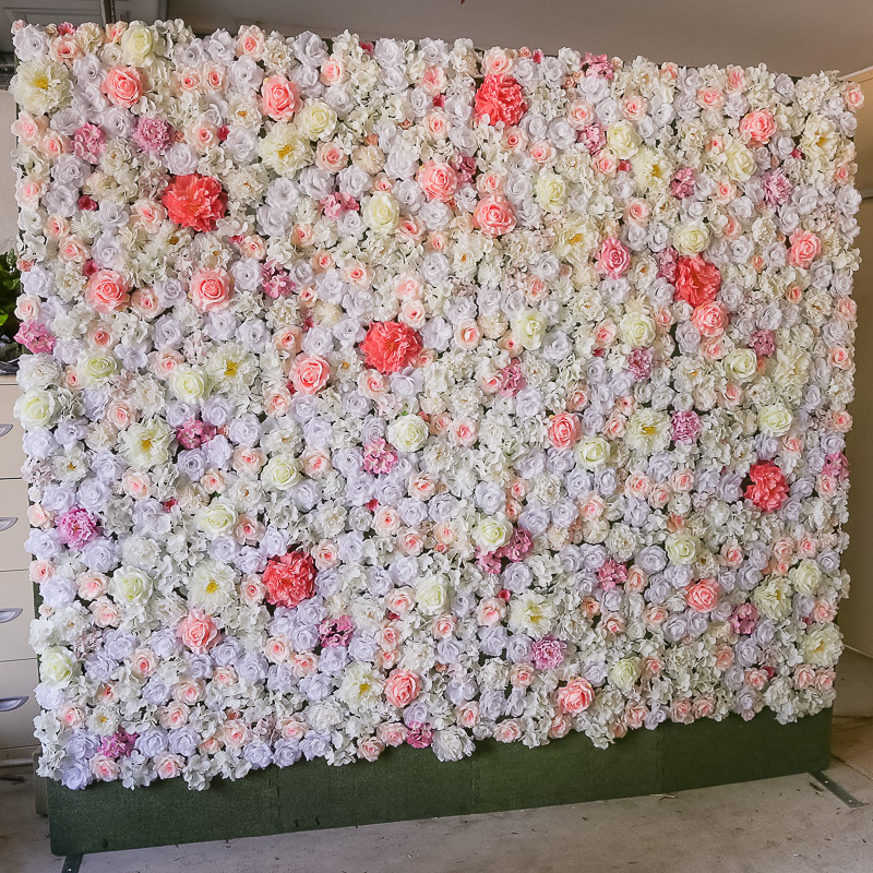 Photo Booth Flower Wall