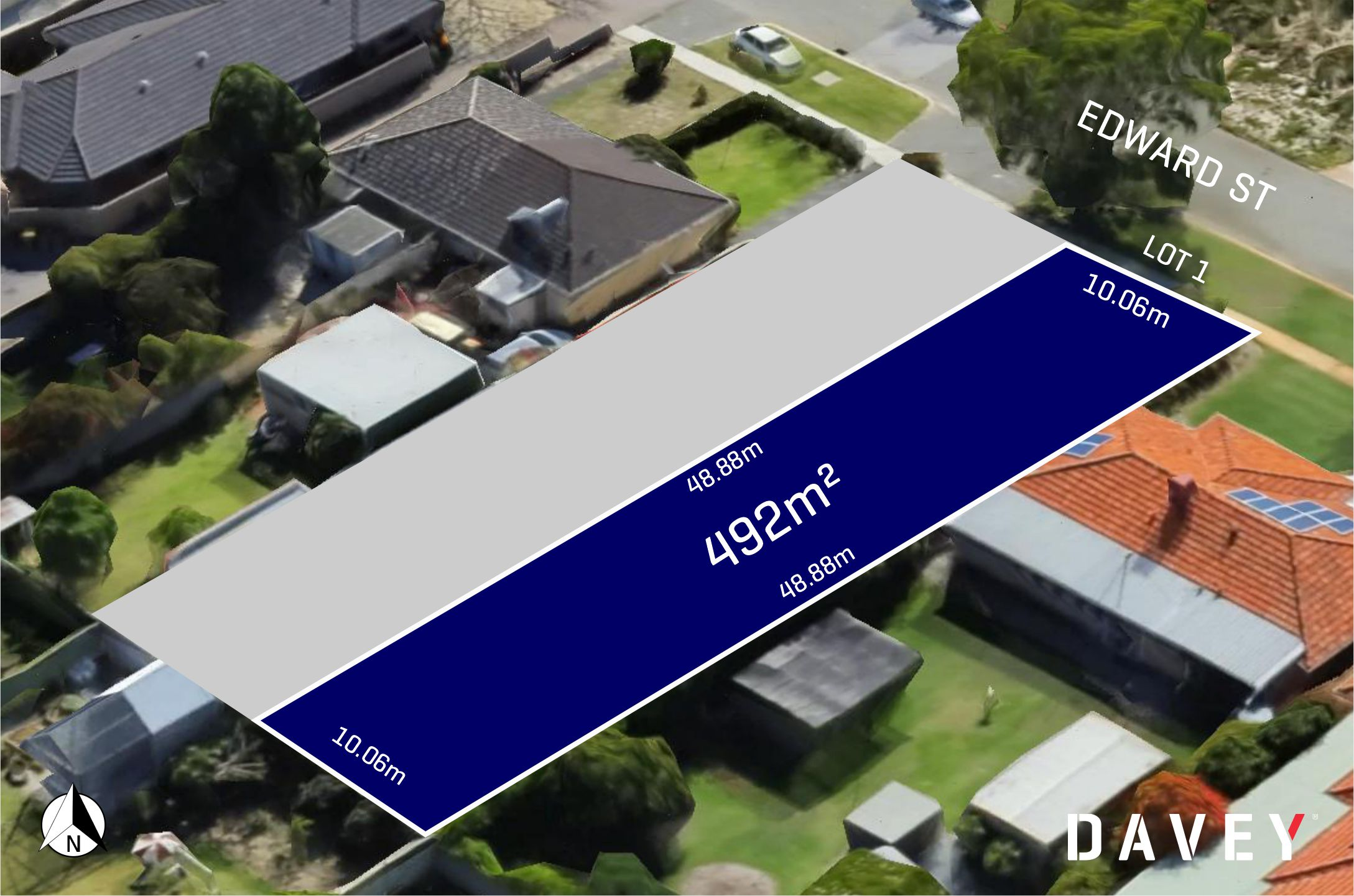 Vacant land in a handy central location