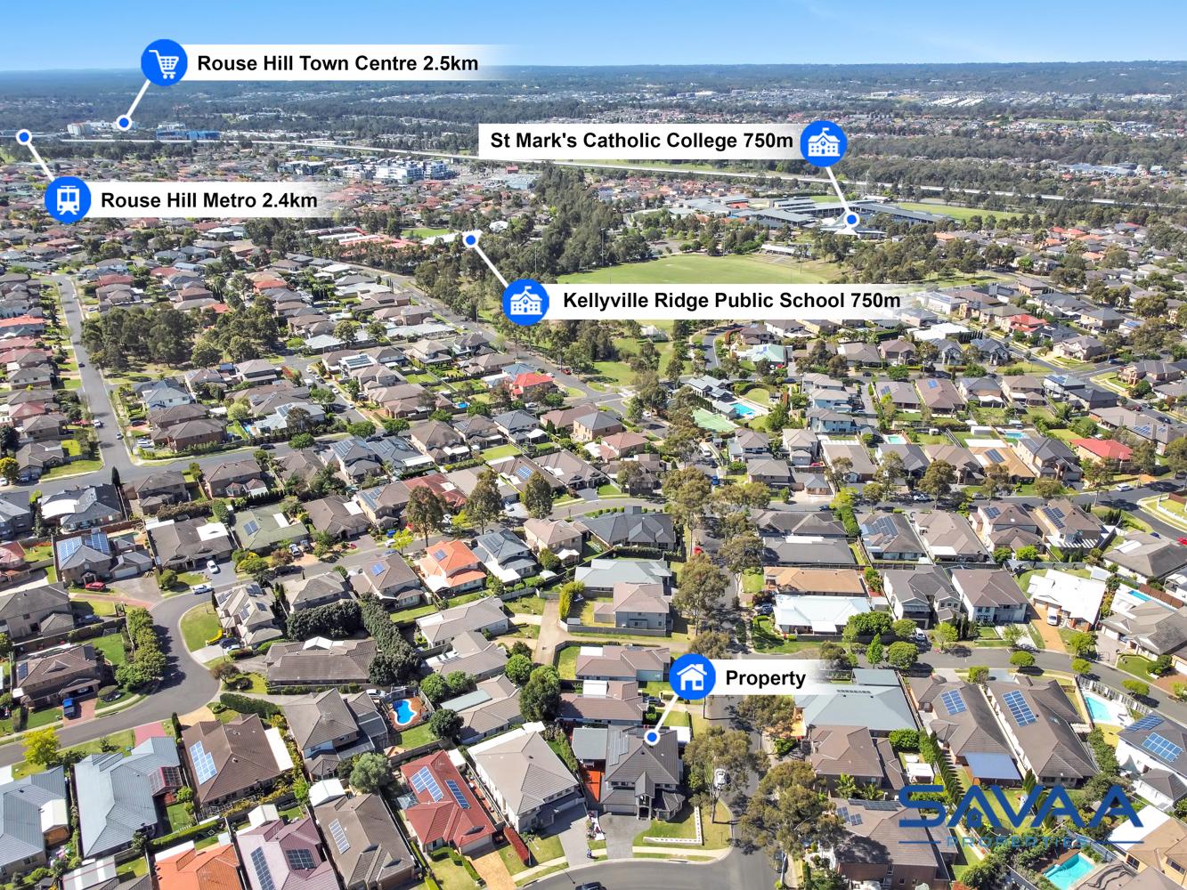 21 LEILANI STREET, Kellyville Ridge NSW