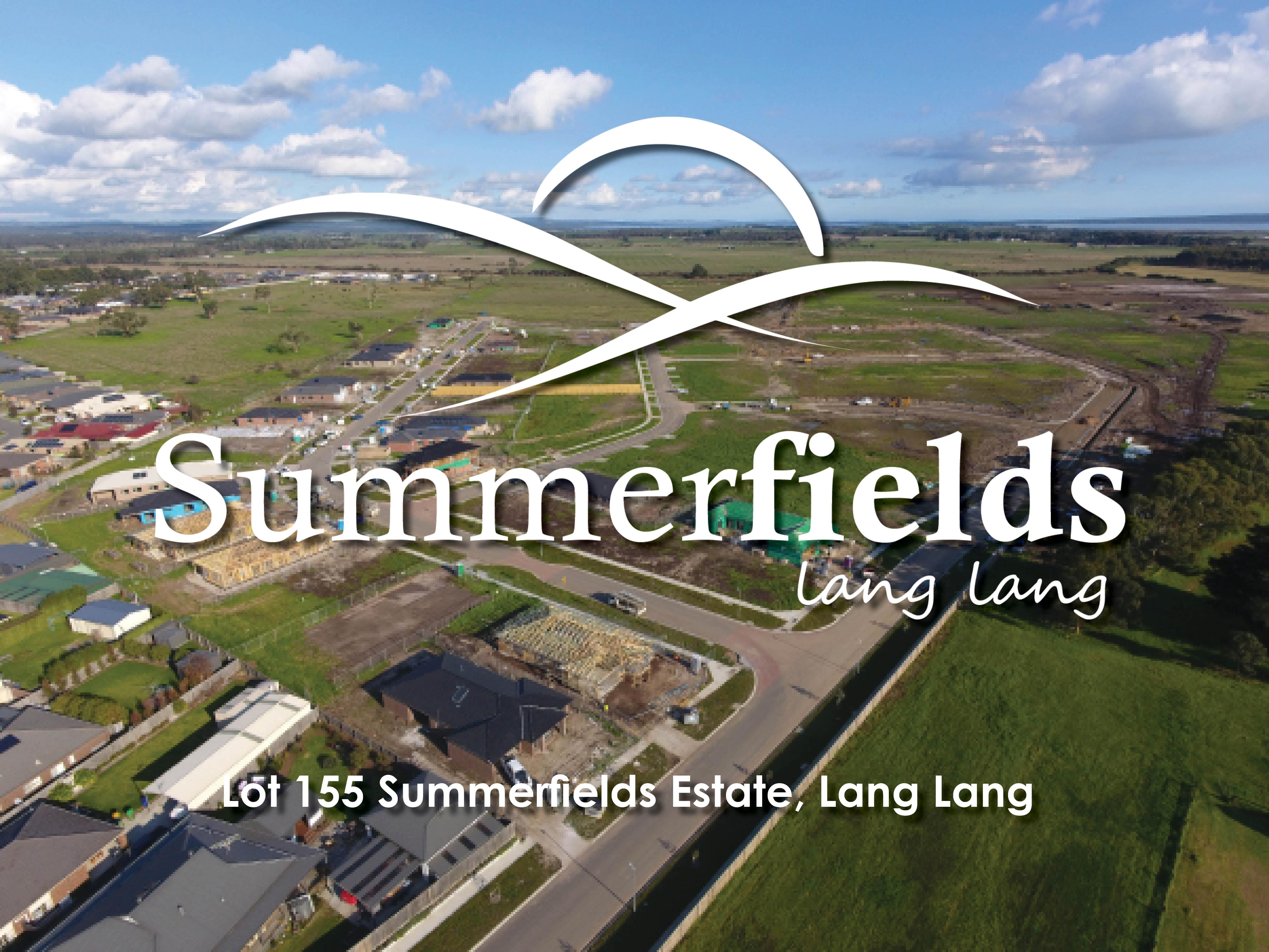 Lot Lot 155,  Summerfields Estate, LANG LANG, VIC, 3984 - Image