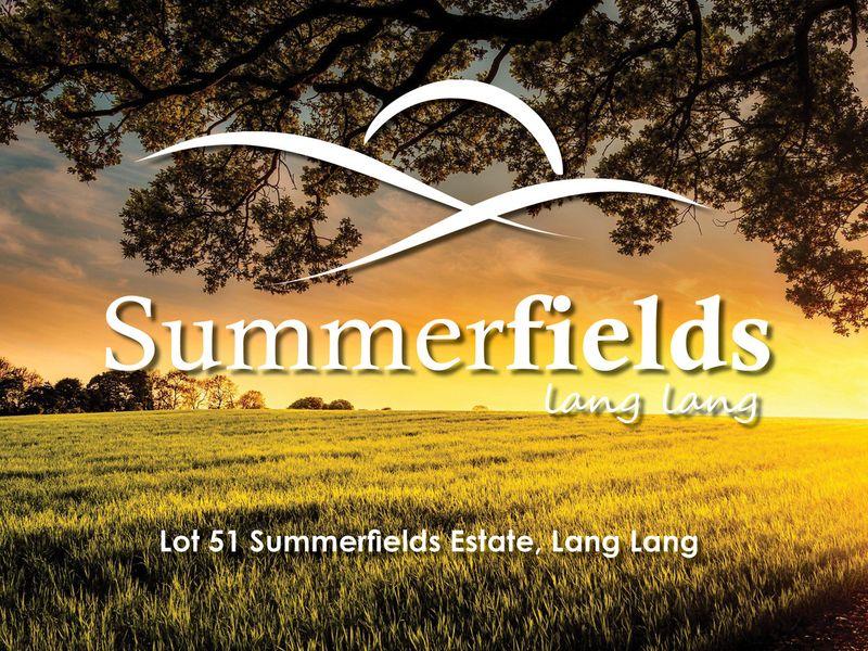 Lot 51,  Summerfields Estate, LANG LANG, VIC, 3984 - Image